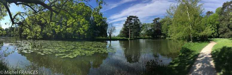 Bois de Vincennes, lac de Gravelle