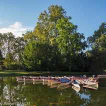 Les barques du lac de Daumesnil