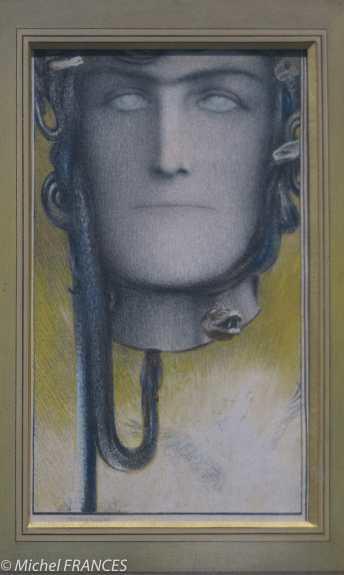 exposition Fernand Khnopff - Le sang de Méduse - 1898