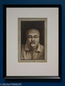 exposition Jean-Jacques Lequeu - Il tire la langue