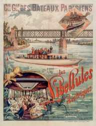 Titre : Cie Gle des bateaux parisiens. Les libellules électriques : [affiche] / F. Hugo d'Alési ; Atelier H. d'Alési, 4, place Monge, Paris Auteur : Hugo d'Alési, F. (1849-1906). Illustrateur Auteur : Ateliers Hugo d'Alési. Auteur ou responsable intellectuel Éditeur : [Compagnie générale des bateaux parisiens] (Paris) Date d'édition : 1894 Sujet : Restaurants Sujet : Tourisme fluvial Sujet : Seine (France ; cours d'eau) Sujet : Paris (France) Sujet : Conflans-Sainte-Honorine (Yvelines) Sujet : Restauration Sujet : Tourisme Sujet : Paysages -- 1870-1914 Type : image fixe Type : estampe Langue : français Format : 1 est. : lithographie, en coul. ; 91 x 63 cm Format : image/jpeg Format : Nombre total de vues : 1 Description : Affiche Droits : domaine public Identifiant : ark:/12148/btv1b9004513w Source : Bibliothèque nationale de France, ENT DN-1 (HUGODALESI,F.)-FT6 Notice d'ensemble : http://catalogue.bnf.fr/ark:/12148/cb40329361m Provenance : Bibliothèque nationale de France Date de mise en ligne : 07/03/2011