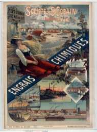 Titre : Société de St Gobain. Sept usines... Engrais chimiques : [affiche] / [F. Hugo d'Alési] Auteur : Hugo d'Alési, F. (1849-1906). Illustrateur Éditeur : [s.n.][s.n.] Éditeur : [Aff. Camis] ([Paris]) Date d'édition : 1896 Sujet : Agriculture Type : image fixe Type : estampe Langue : français Format : 1 est. : lithogr. en coul. ; 106 x 75 cm Format : image/jpeg Format : Nombre total de vues : 1 Description : Affiche Droits : domaine public Identifiant : ark:/12148/btv1b90045431 Source : Bibliothèque nationale de France, ENT DN-1 (HUGODALESI,F.)-FT6 Notice du catalogue : http://catalogue.bnf.fr/ark:/12148/cb39838374x Provenance : Bibliothèque nationale de France Date de mise en ligne : 07/03/2011