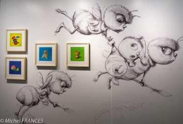 MAD - expo Drôles de petites bêtes d'Antoon Krings