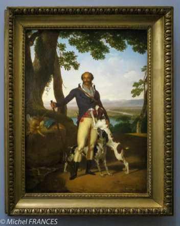 expo Le modèle noir - Louis Gauffier - Portrait de Thomas Alexandre Dumas en chasseur - 1790