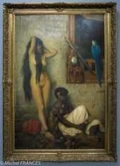 expo Le modèle noir - Jean-Léon Gérôme - À vendre, esclaves au Caire - 1873 - Musée de Roubaix, la Piscine