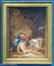 Musée Cognacq-Jay - Génération en Révolution - Anne-Louis Girodet de Roucy-Trioson - Le Christ mort soutenu par la Vierge - vers 1789 - Pochade, esquisse