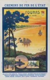Titre(s) Chemins de fer de l'Etat. Fouras les Bains (Charente inf.) ... : [affiche] / J. Perthuis Auteur(s) Perthuis, J. (18..-19..) (dessinateur) [Illustrateur] Autre(s) auteur(s) Imprimerie P. Moreau (Nantes) [Imprimeur] Editeur(s), Imprimeur(s) [S.l.] : [éditeur inconnu], 1912 (Nantes) : imp. Vve P. Moreau Fils Description 1 est. (affiche) : lithogr., en coul. ; 118 x 76 cm Note(s) spécifique(s) Signée et datée Sujet(s) Chemins de fer de l'Etat (France) -- Publicité Compagnies de chemin de fer -- Publicité -- 1900-1945 Affiches touristiques -- France -- 1900-1945 Fouras (Charente-Maritime) -- Publicité Paysages Mot(s)-clé(s) Chemins de fer de l'Etat (France) compagnies de chemin de fer affiches touristiques Fouras (Charente-Maritime) paysages Cote de l'exemplaire numérisé AF 88703 GF Date de mise en ligne 16/05/2017 Droits d'accès Consultable sans restrictions Droits domaine public Source Ville de Paris / Bibl. Forney / Roger-Viollet