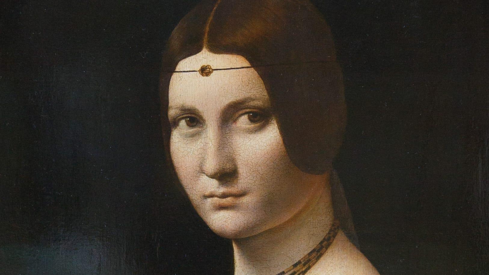 Léonard de Vinci – La belle Ferronière