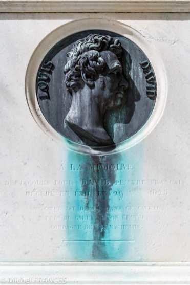 Père-Lachaise - à la mémoire de Jacques-Louis David