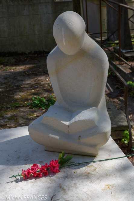 Père-Lachaise - tombe de Jean-Jacques Bled