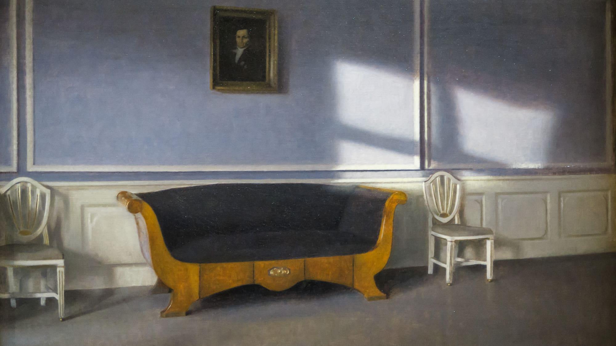 Musée Jacquemard André – exposition Hammershoi