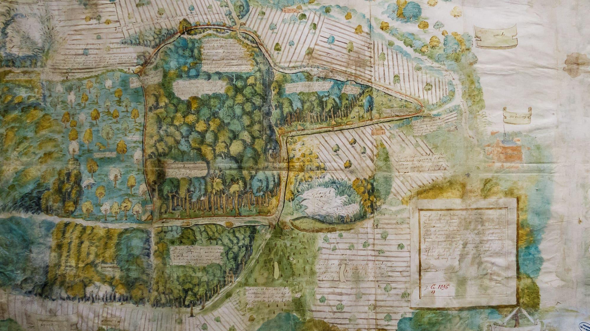 Archives nationales – Exposition Quand les artistes dessinaient les cartes –