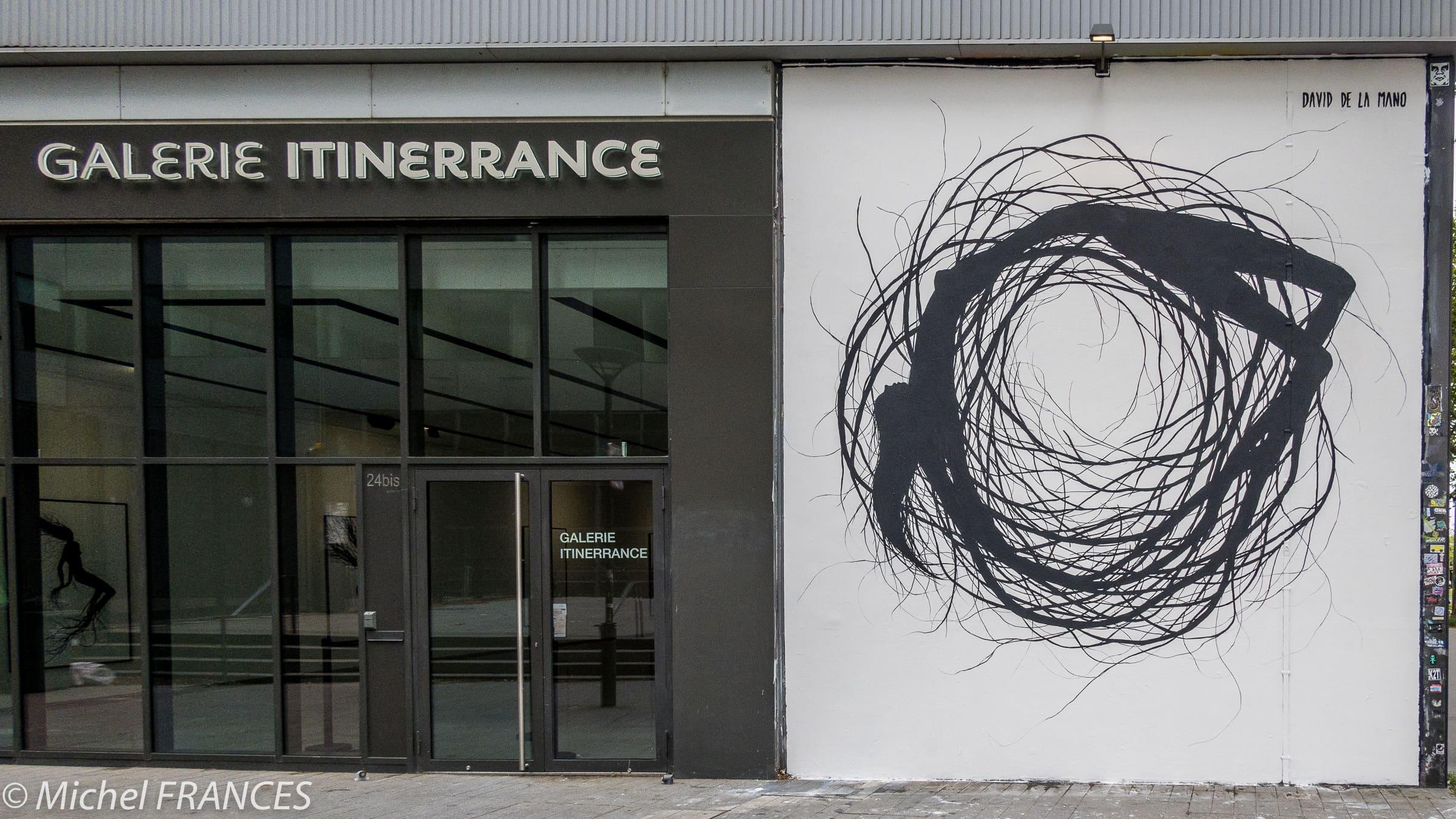 Galerie Itinerrance – Exposition David de la Mano