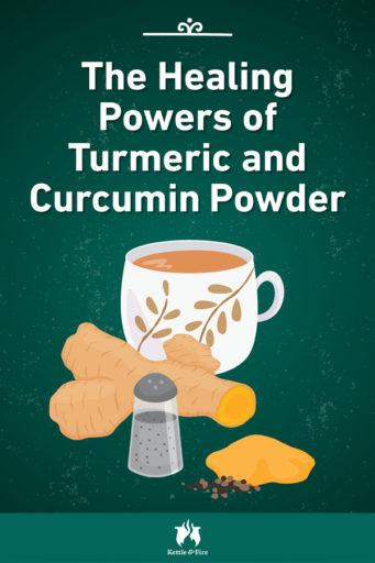 The Healing Powers of Turmeric and Curcumin Powder pin