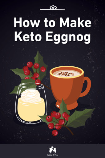 How to Make Keto Eggnog pin