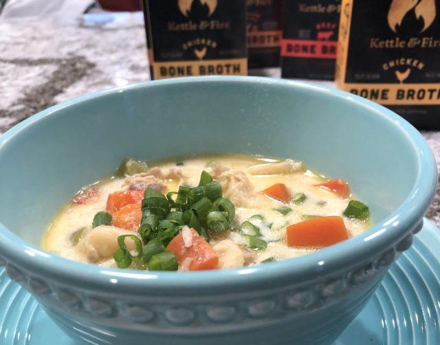 Instant Pot Recipe: Spicy Keto Chicken Soup