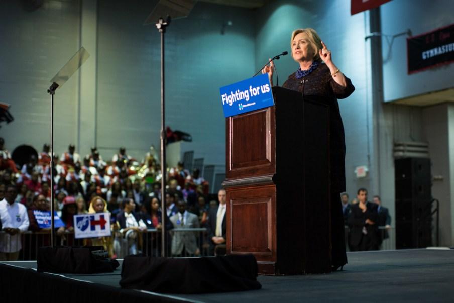 Hillary in Atlanta