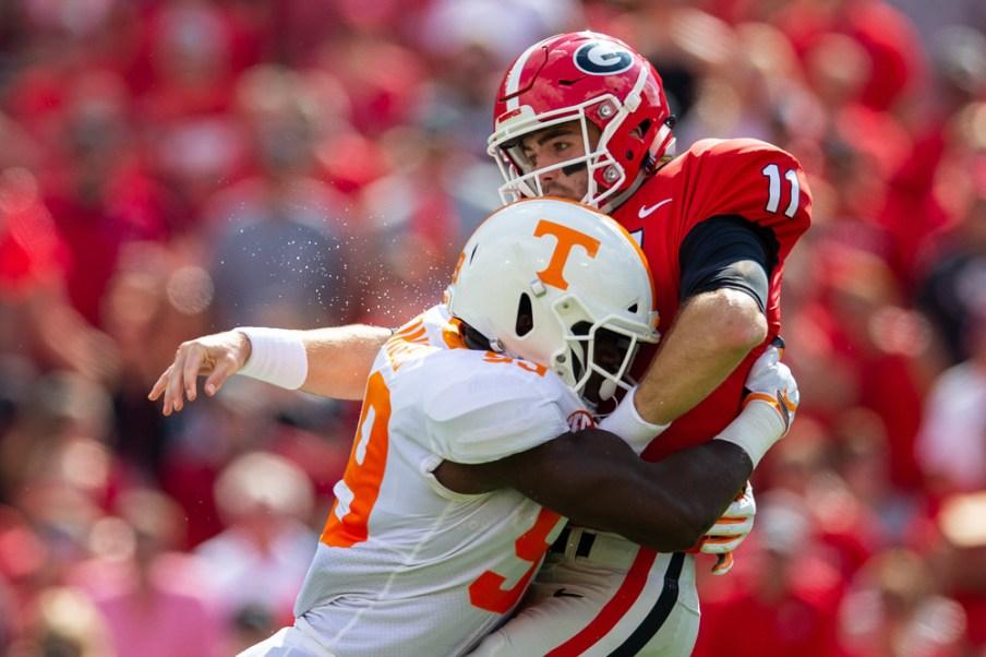 UGA Tennessee football