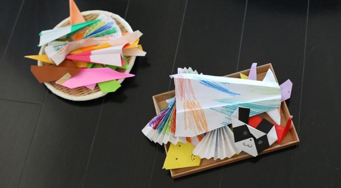 「折り紙の作品」の適量をキープできるようになった収納法