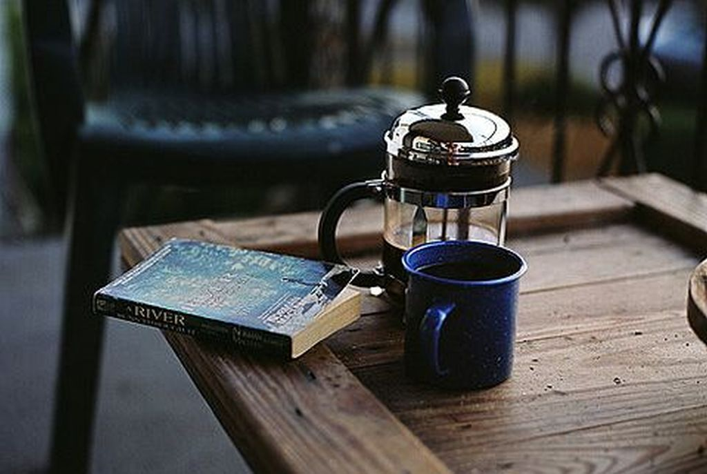 cafea french press