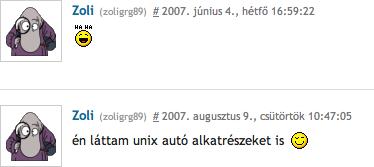 zoli-hozzaszol