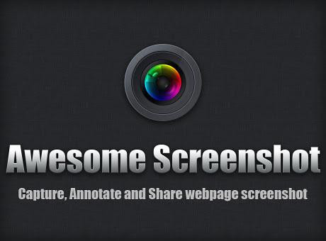 شعار إضافة Awesome Screenshot