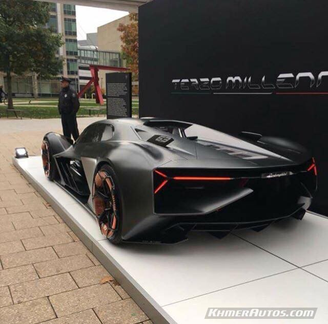 Lamborghini Terzo Millennial Is The Newest Model ...