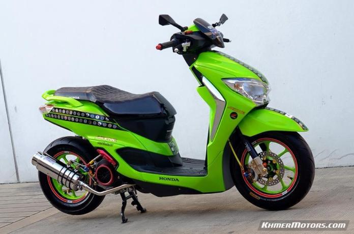 Honda Moove custom modified (11)