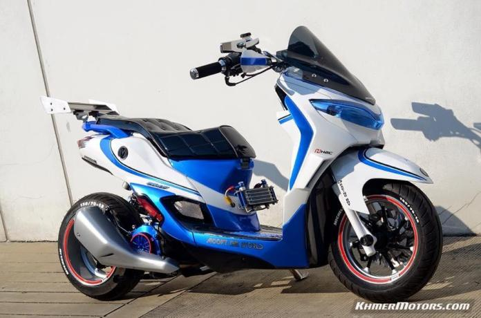 Honda Moove custom modified (14)