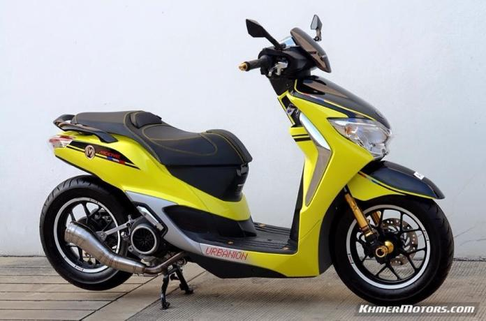 Honda Moove custom modified (2)