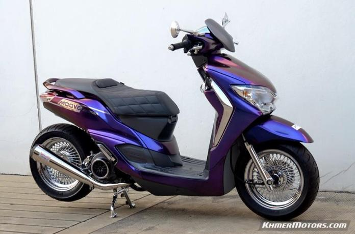 Honda Moove custom modified (4)