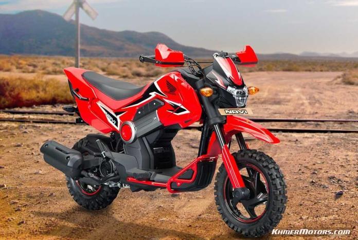 Honda NAVI custom (1)