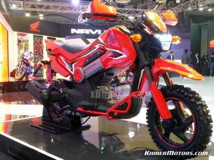 Honda NAVI custom (2)