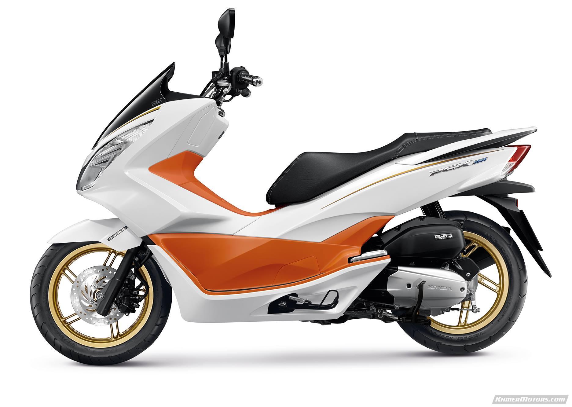kong pearl macau en motorcycle hong honda jasmine white pcx scooter