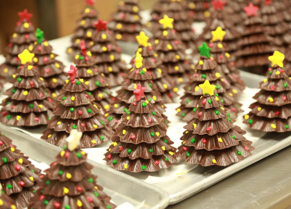 Christmas Tree Making at Chocolate Works