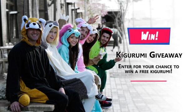 Kigurumi Giveaway - Win a Kigurumi Animal Onesie