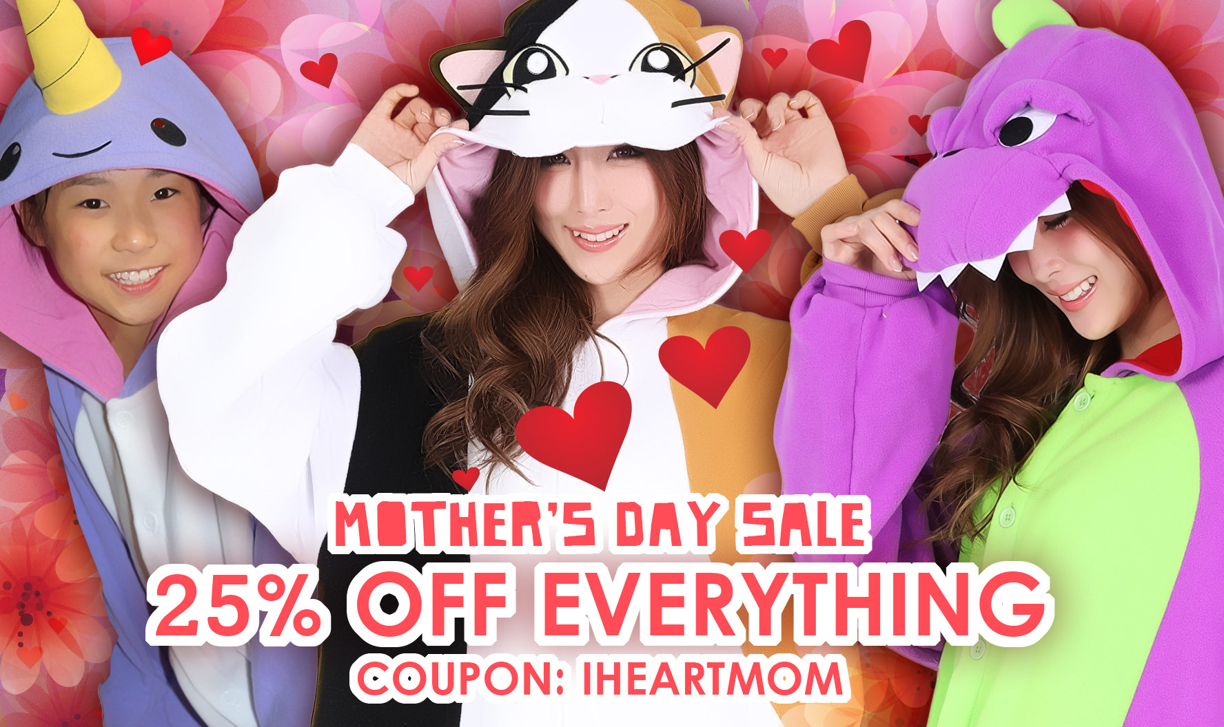 Kigurumi Shop Mother's Day Sale
