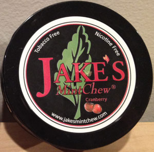 Jake's Mint Chew Cranberry