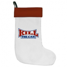 KillTheCan.org Christmas Stocking