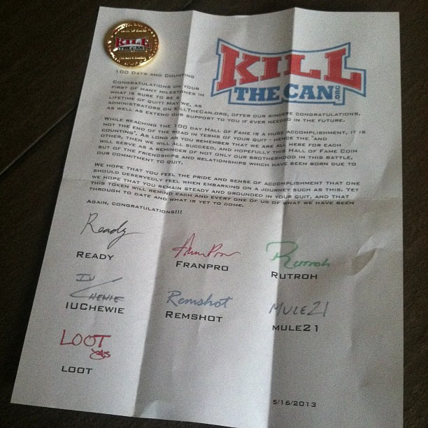 The Hall of Fame Letter