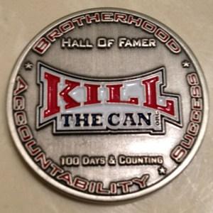 Silver HOF Coin With Logo
