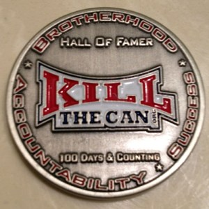 Silver HOF Coin With Logo