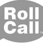Roll Call For Saturday January 2nd, 2016