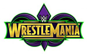WrestleMania 34 Logo 2018