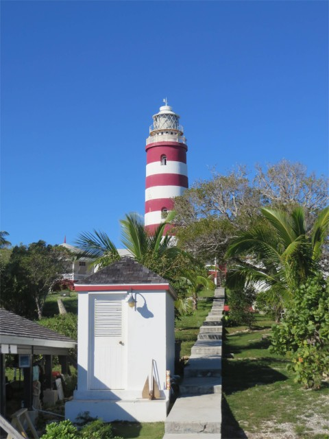View of the lighthouse from the dock