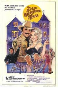 The Best Little Whorehouse In Texas (Poster)