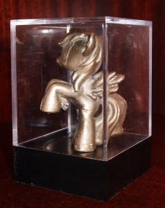 Bronze Pony Display Case