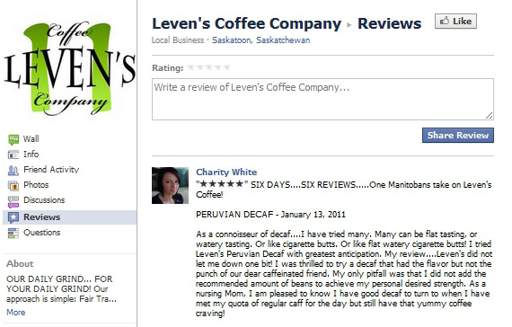 facebook reviews tab