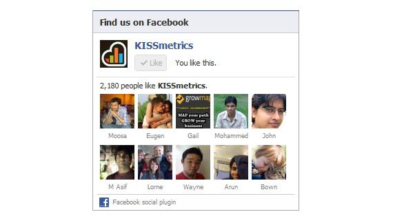 Facebook caixa como