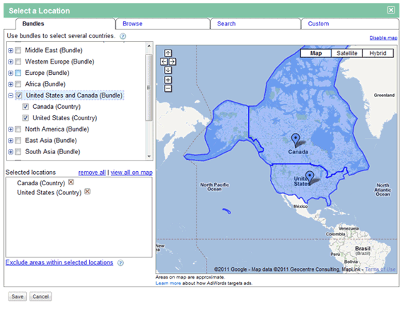 adwords geo targeting with PPC